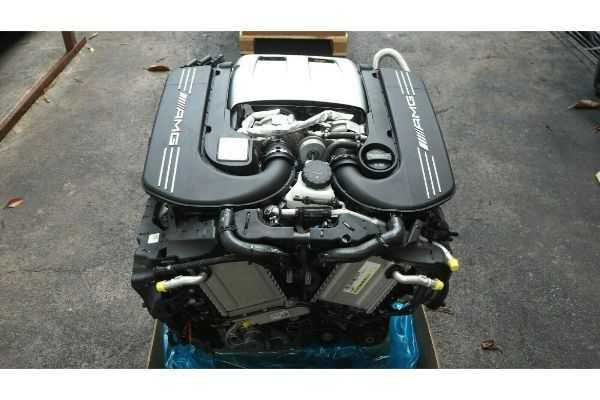 Mercedes W205 C63AMG 2018 4.0 V8 Bi-Turbo Engine