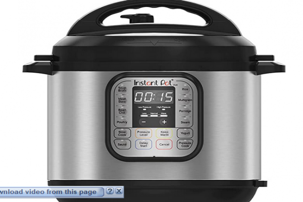 Instant Pot Duo 7-in-1 Electric Pressure Cooker, Slow Cooker, Rice Cooker, Steamer, Saute, Yogurt Ma